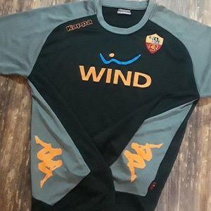 AS Roma ASR men's Kappa futbol soccer Jersey